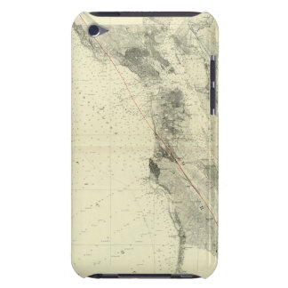 San Francisco Bay showing San Andreas Rift iPod Case-Mate Case