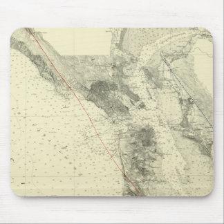 San Francisco Bay showing San Andreas Rift Mouse Pad
