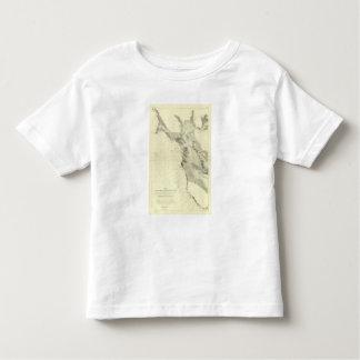 San Francisco Bay showing San Andreas Rift Toddler T-shirt