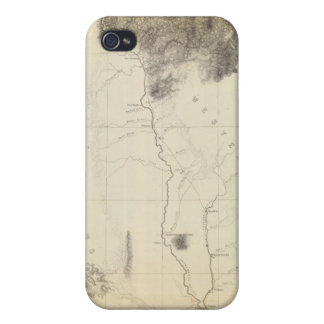 San Francisco Bay to N boundary of California iPhone 4/4S Cover