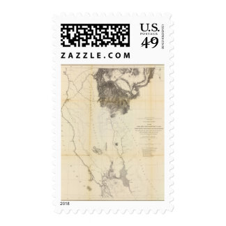 San Francisco Bay to N boundary of California Postage Stamps