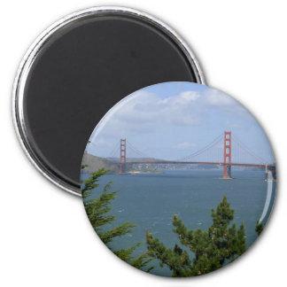 San Francisco Bay visto del Precidio Imán De Frigorífico