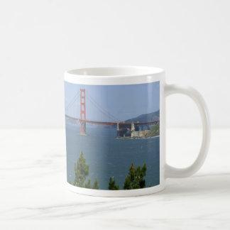 San Francisco Bay visto del Precidio Tazas