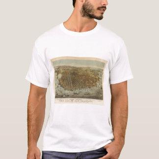 San Francisco Birds eye view T-Shirt
