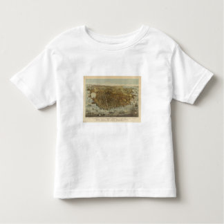 San Francisco Birds eye view Toddler T-shirt