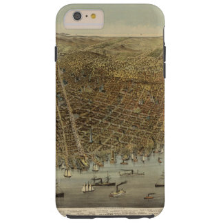 San Francisco Birds eye view Tough iPhone 6 Plus Case