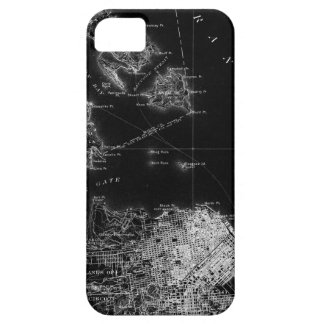San Francisco Black and White Map iPhone SE/5/5s Case