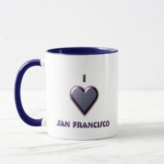 San Francisco -- Blue with glow Mug