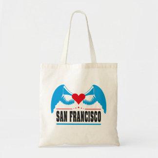 San Francisco Bolsa Tela Barata