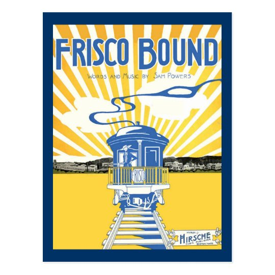San Francisco Bound Postcard