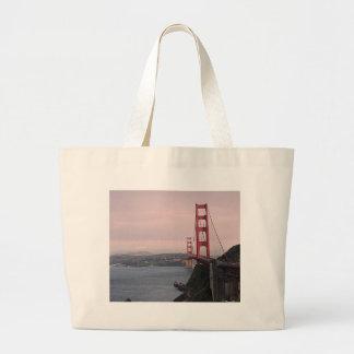 San Francisco Bridge Jumbo Tote Bag