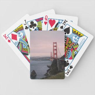 San Francisco Bridge Bicycle Playing Cards