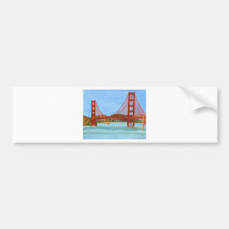 San Francisco Bridge Bumper Sticker