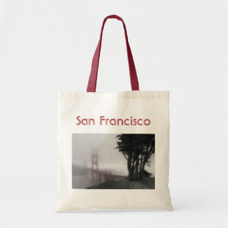 San Francisco Bridge Tote Canvas Bags