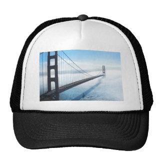 san francisco bridge trucker hat