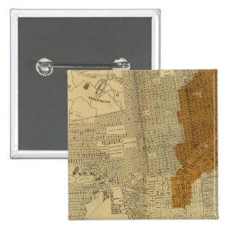 San Francisco burnt area, 1906 Pin