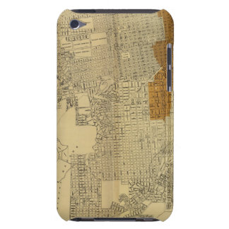 San Francisco burnt area, 1906 Barely There iPod Covers