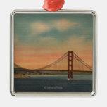 San Francisco, CA 2 Christmas Tree Ornament