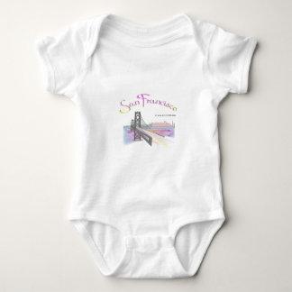 San Francisco, CA Baby Bodysuit