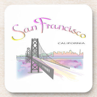San Francisco, CA Drink Coaster