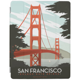 San Francisco, CA - Golden Gate Bridge iPad Smart Cover