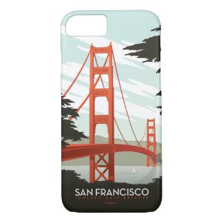 San Francisco, CA - Golden Gate Bridge iPhone 8/7 Case