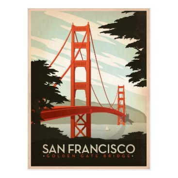 AndersonDesignGroup San Francisco, CA - Golden Gate Bridge Postcard
