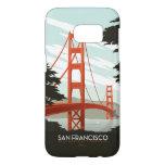 San Francisco, CA - Golden Gate Bridge Samsung Galaxy S7 Case