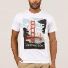 San Francisco, CA - Golden Gate Bridge T-Shirt