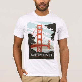 San Francisco, CA - Golden Gate Bridge T-Shirt