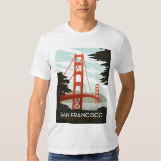 San Francisco, CA - Golden Gate Bridge Tee Shirt