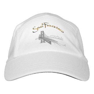 San Francisco, CA Grey/Gold, Cool Adjustable Hat