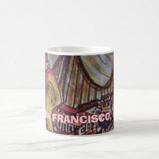 SAN FRANCISCO, CA CLASSIC WHITE COFFEE MUG