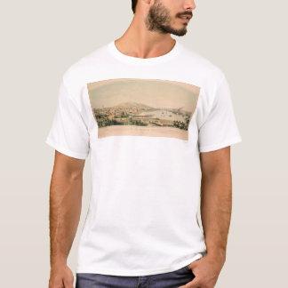San Francisco, CA. Panoramic Map 1849 (1626A) T-Shirt