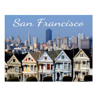 San Francisco CA pintó estados del horizonte de Postales