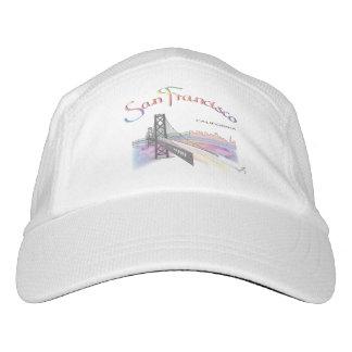 San Francisco, CA, Rainbow, Cool Adjustable Hat