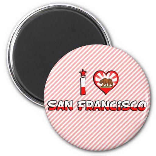 San Francisco, CA Refrigerator Magnet