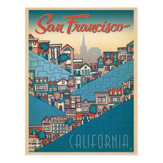 San Francisco, CA Tarjeta Postal