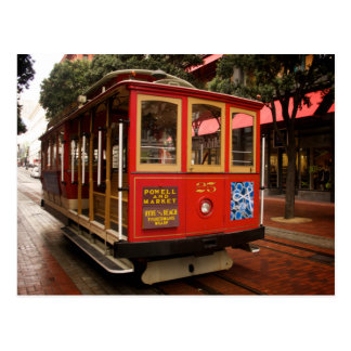 San Francisco Cable Car 2013 Calendar Postcard