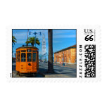 San Francisco Cable Car And Ferry Building Stamp