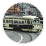 San Francisco Cable Car Ceramic Knob