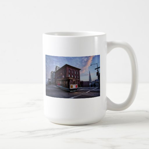 San Francisco Cable Car Classic White Coffee Mug