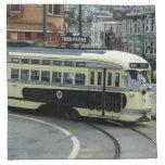 San Francisco Cable Car Cloth Napkin