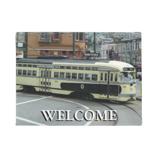 San Francisco Cable Car Doormat