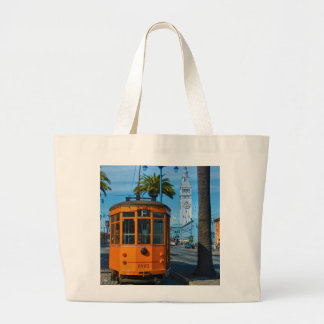 San Francisco Cable Car & Ferry Building Tote Bags