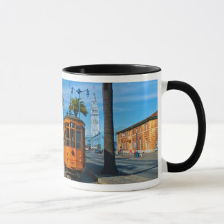 San Francisco Cable Car & Ferry Building Mug