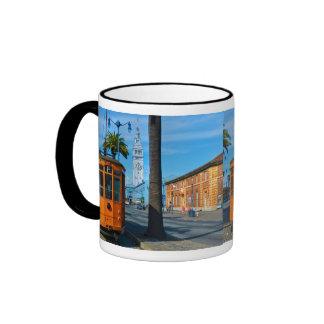 San Francisco Cable Car & Ferry Building Ringer Mug