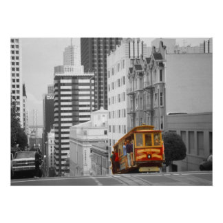 San Francisco Cable Car – Highlight Photo Art Poster