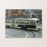 San Francisco Cable Car Jigsaw Puzzle