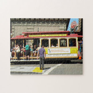 San Francisco Cable Car Jigsaw Puzzles